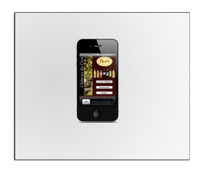 château du Cros Mobile iPhone